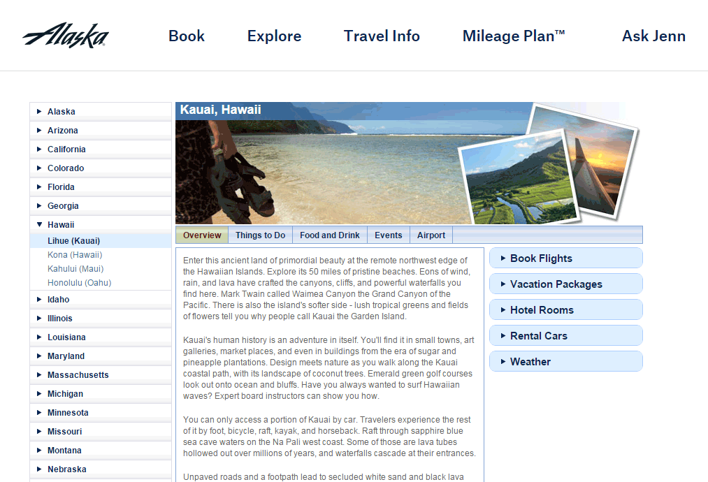 Why sure I'll spend some time researching Hawaii...