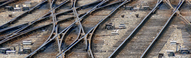 Train track junctions