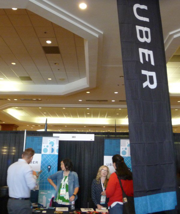 Uber booth